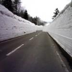 八甲田の雪の回廊